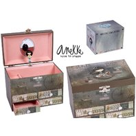 Caseta Anekke Toys pentru bijuterii muzicala