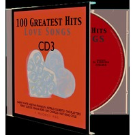 CD Muzica Romantica, 100 Greatest Hits Love Songs, CD 3, 20 melodii