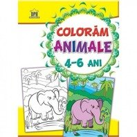 COLORAM ANIMALE 4-6 ani