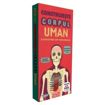 Construieste Corpul Uman si descopera cum functioneaza - puzzle 3D ...