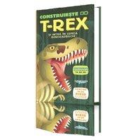 Construieste un T-REX si intra in lumea dinozaurilor -  puzzle 3D urias inclus