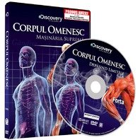 DVD Corpul Omenesc. Masinaria suprema. Depasind limitele - Forta