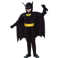 Costum Batman muschi, 7-9 ani