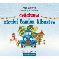 CRACIUNUL MICULUI CAMION ALBASTRU