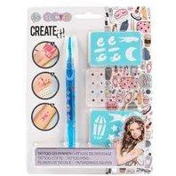Create-it! Set Pix pentru tatuaje si sabloane pentru fetite