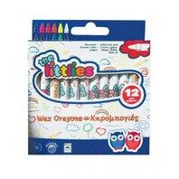 Creioane cerate 12 culori-The Littlies
