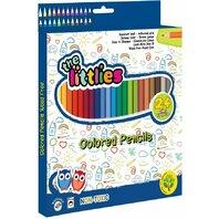 Creioane colorate 24 de buc The Littlies