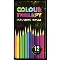 Creioane colorate Colour Therapy, 10 culori