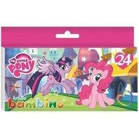 Creioane colorate My Little Pony, 24 culori