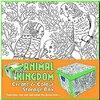 Cutie depozitare Colour Therapy-Regatul animalelor