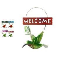 Decoratiune de gradina Welcome Colibri