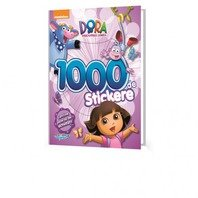 Dora Carte cu 1000 Stickere