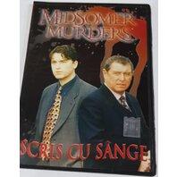 DVD Crimele din Midsomer, vol. 4-Scris Cu Sange