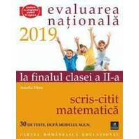 EVALUAREA NAT. 2019 LA FINALUL CL. A II-A SCRIS-CITIT MATE