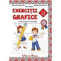 Exercitii grafice 4-5 ani