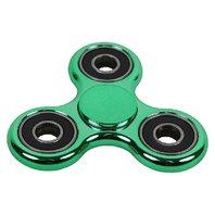 Fidget Spinner Metallic, verde