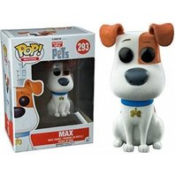 Figurina Funko Pop Movies - The Secret Life of Pets - Max - Vinyl Collectible Action Figure (293)
