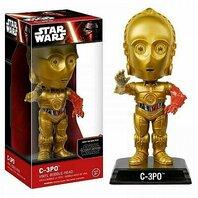 Figurina Funko Star Wars: The Force Awakens C-3PO Vinyl Collectible Bobble-Head Action Figure