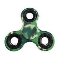 Finger Fidget Spinner Camouflage Verde