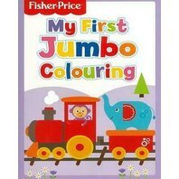 Fisher Price My First Jumbo Colouring