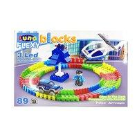 FLEXI BLOCKS Police, 89 piese,  38,3x28,2x8,5cm