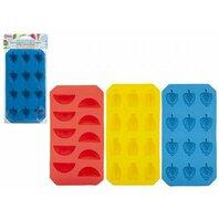 Forme pentru cuburi de gheata Fructe, 3 culori