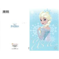 Frozen Felicitare Elsa (3)