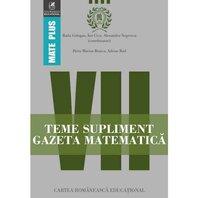 Gazeta Matematica Clasa a 7-a Teme supliment