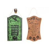 Halloween Decoratiune placute