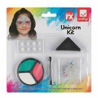 Halloween- Makeup Unicorn face paint set cu blister CARD