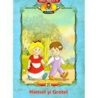 HANSEL SI GRETEL. CARTE DE COLORAT