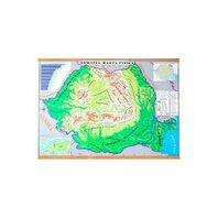 Harta Fizica a Romaniei. Harta Administrativa a Romaniei