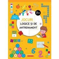 JOCURI LOGICE SI DE ANTRENAMENT. 7 ANI+