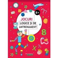 JOCURI LOGICE SI DE ANTRENAMENT. 8 ANI+