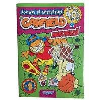 Jocuri si activitati Garfield Marcheaza