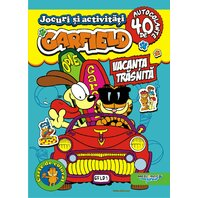 Jocuri si activitati Garfield Vacanta trasnita