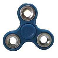 Jucarie Antistres Finger Fidget Whirlerz Spinner bleu pentru copii si adulti