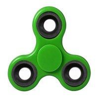 Jucarie Antistres Finger Fidget Whirlerz Spinner verde pentru copii si adulti