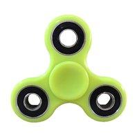 Jucarie antistres Finger Spinner Fidget Verde