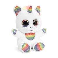 Jucarie de plus Animotsu Rainbow Sparkle Unicorn 15 cm