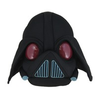 Jucarie de plus Star Wars Angry Birds Darth Vader, 15 cm