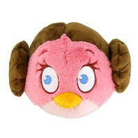 Jucarie de plus Star Wars Angry Birds Princess Leila, 15 cm
