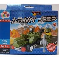 Lego Jeep Army