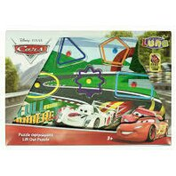 LIFT-OUT PUZZLE 30X21X0.8CM CARS