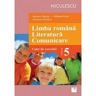 Limba română. Literatură. Comunicare. Clasa a V-a. Caiet de exerciţii