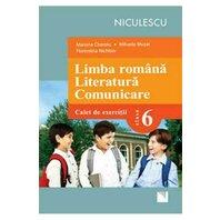 Limba română. Literatură. Comunicare. Clasa a VI-a. Caiet de exerciţii (Cheroiu)