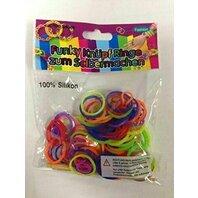 Loombands Set 100 inele, 6 culori