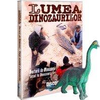 DVD Lumea Dinozaurilor - Doctorii de dinozauri. Sexul la dinozauri + jucarie