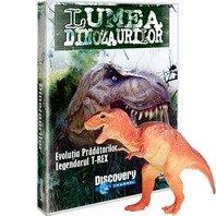 DVD Lumea Dinozaurilor - Evolutia pradatorilor. Legendarul T-REX + jucarie
