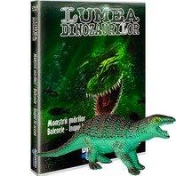 DVD Lumea Dinozaurilor - Monstrii marilor. Balenele - Inapoi in ocean + jucarie
